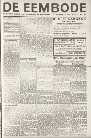 De Eembode 1922-11-17