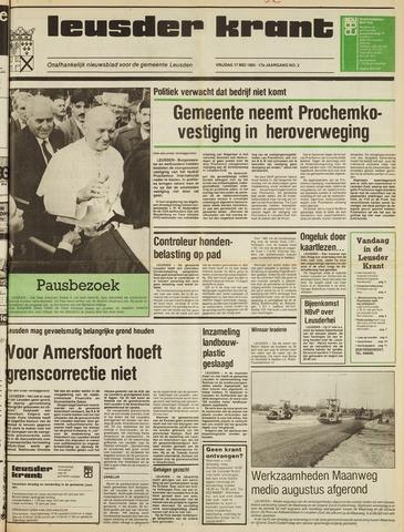 Leusder Krant 1985-05-17