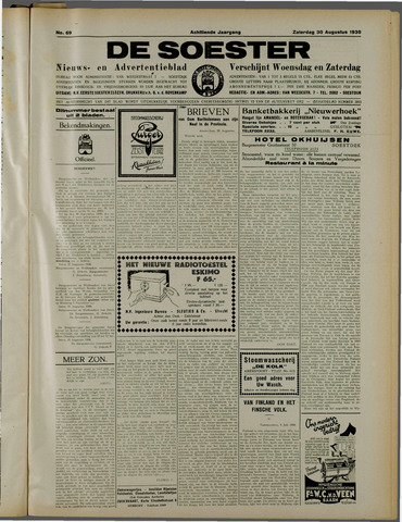 De Soester 1930-08-30