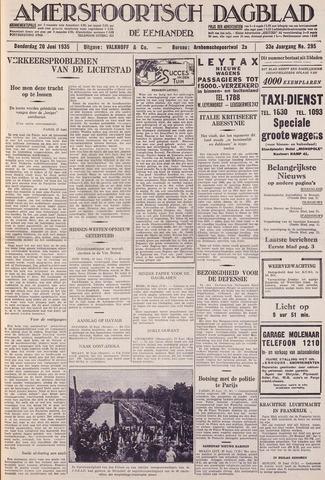 Amersfoortsch Dagblad / De Eemlander 1935-06-20