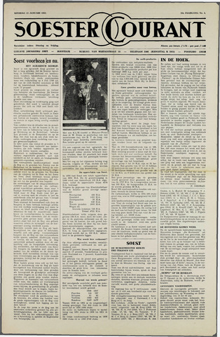 Soester Courant 1952-01-15