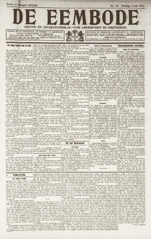De Eembode 1913-06-03