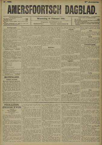 Amersfoortsch Dagblad 1910-02-16