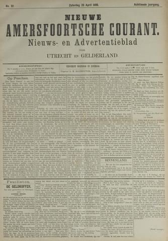 Nieuwe Amersfoortsche Courant 1889-04-20