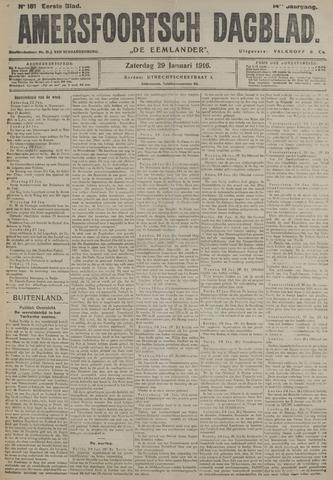 Amersfoortsch Dagblad / De Eemlander 1916-01-29