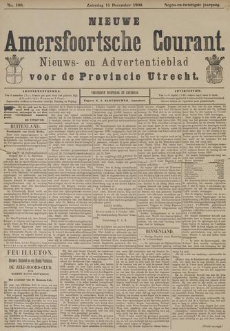 Nieuwe Amersfoortsche Courant 1900-12-15