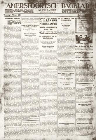 Amersfoortsch Dagblad / De Eemlander 1930-02-05