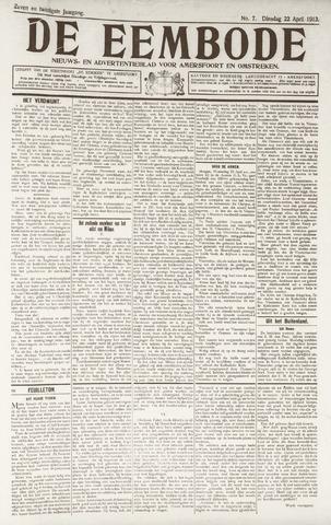 De Eembode 1913-04-22