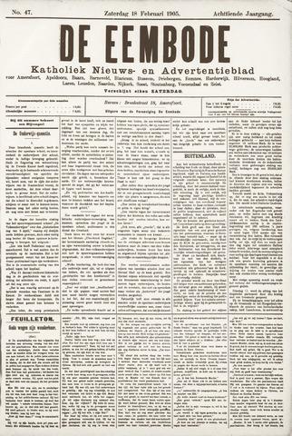 De Eembode 1905-02-18
