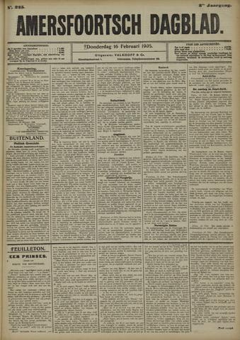 Amersfoortsch Dagblad 1905-02-16