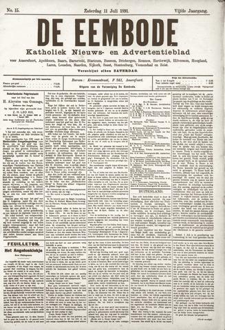 De Eembode 1891-07-11