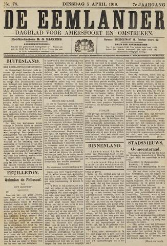 De Eemlander 1910-04-05