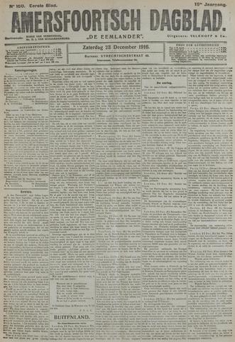 Amersfoortsch Dagblad / De Eemlander 1916-12-23