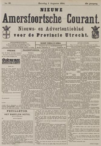 Nieuwe Amersfoortsche Courant 1914-08-01