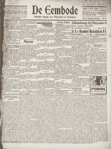 De Eembode 1932-12-30