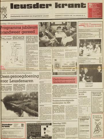 Leusder Krant 1986-08-21