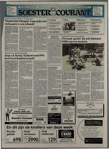 Soester Courant 1998-08-05