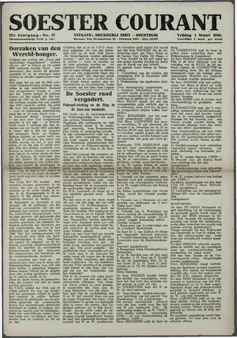 Soester Courant 1946-03-01