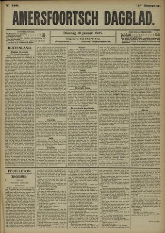 Amersfoortsch Dagblad 1905-01-10