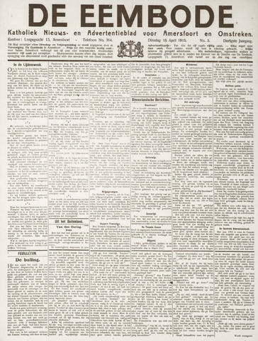 De Eembode 1916-04-18