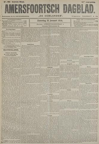 Amersfoortsch Dagblad / De Eemlander 1914-01-31