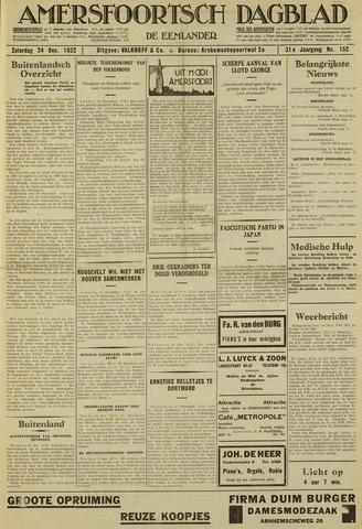 Amersfoortsch Dagblad / De Eemlander 1932-12-24