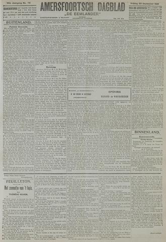 Amersfoortsch Dagblad / De Eemlander 1921-09-23
