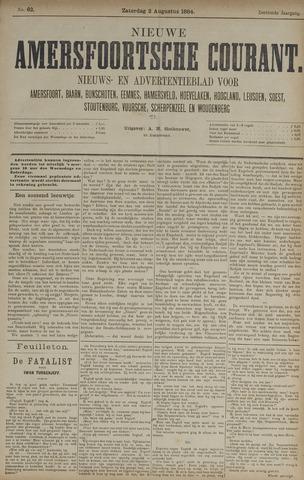 Nieuwe Amersfoortsche Courant 1884-08-02