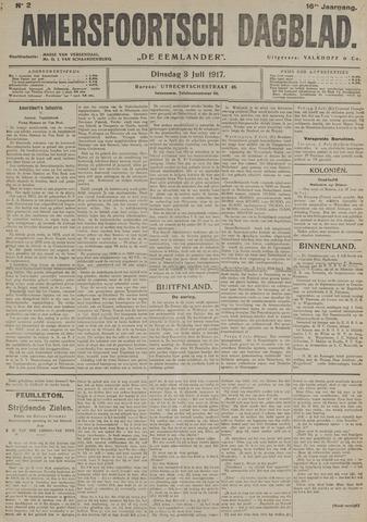Amersfoortsch Dagblad / De Eemlander 1917-07-03