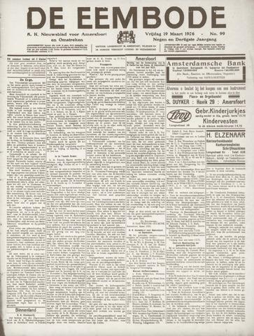 De Eembode 1926-03-19