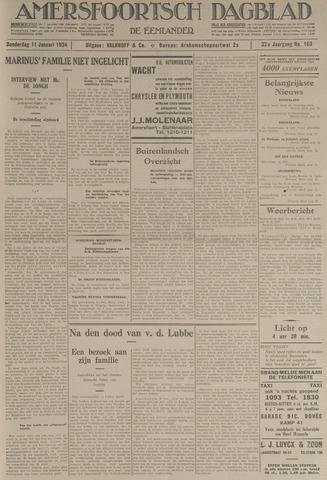 Amersfoortsch Dagblad / De Eemlander 1934-01-11