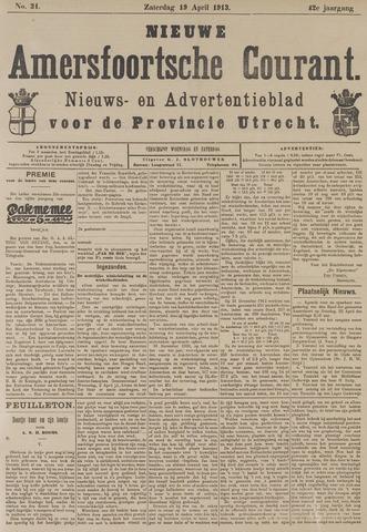 Nieuwe Amersfoortsche Courant 1913-04-19
