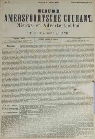 Nieuwe Amersfoortsche Courant 1892-10-01