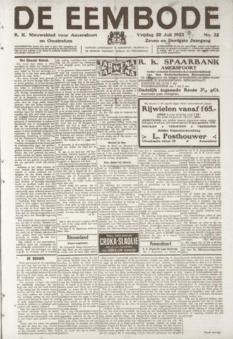 De Eembode 1923-07-20