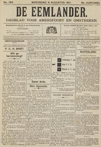 De Eemlander 1911-08-09