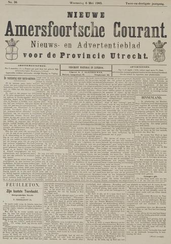 Nieuwe Amersfoortsche Courant 1903-05-06