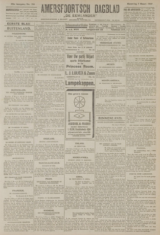 Amersfoortsch Dagblad / De Eemlander 1927-03-07