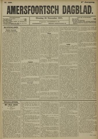 Amersfoortsch Dagblad 1905-11-28