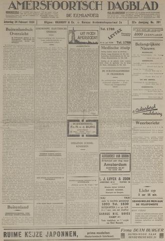 Amersfoortsch Dagblad / De Eemlander 1934-02-24