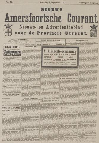 Nieuwe Amersfoortsche Courant 1911-09-09