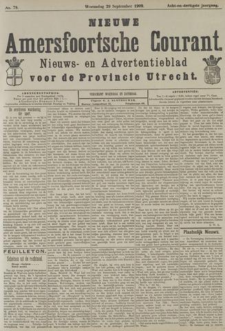 Nieuwe Amersfoortsche Courant 1909-09-29