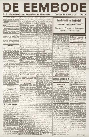 De Eembode 1922-04-14