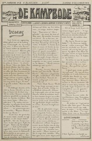 De Kampbode 1916-12-10