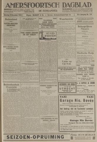 Amersfoortsch Dagblad / De Eemlander 1933-12-16