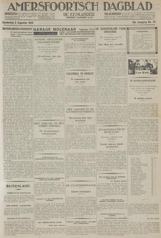 Amersfoortsch Dagblad / De Eemlander 1929-08-08