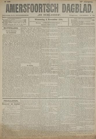 Amersfoortsch Dagblad / De Eemlander 1914-11-04