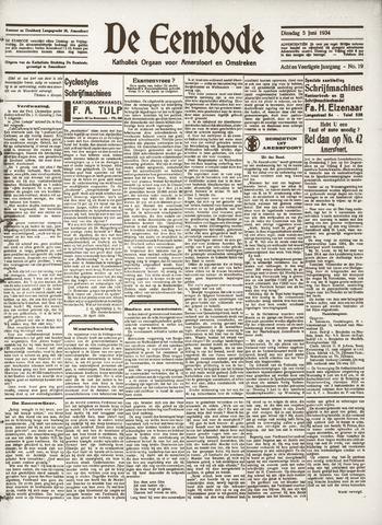 De Eembode 1934-06-05