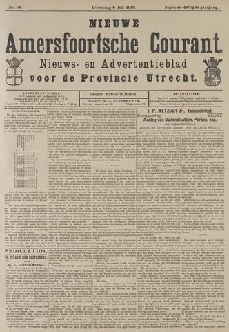 Nieuwe Amersfoortsche Courant 1910-07-06