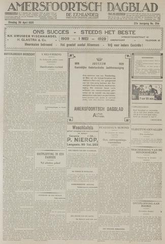 Amersfoortsch Dagblad / De Eemlander 1929-04-30