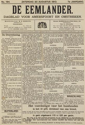 De Eemlander 1910-08-20